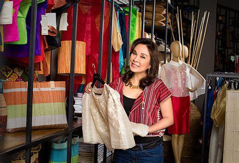 sm filipiniana section sen loren legarda and kultura bringing filipino fashion
