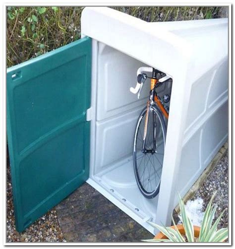25 best ideas about plastic bike storage on