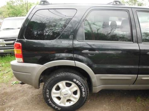 automobile air conditioning repair 2002 ford escape transmission control find used 2002 ford escape 4x4 4door w powermoonroof coldairconditioning 3liter 6cylinder in