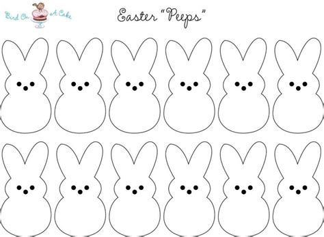 easter bunny templates printable template update234 com