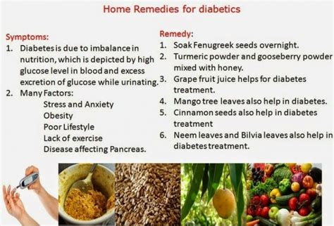 home remedies for diabetes womans vibe