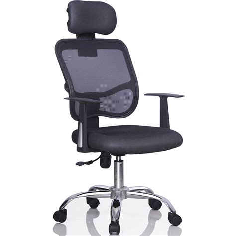 Desk Chair With Headrest by Ergonomic Mesh Task Computer Desk Office Chair High Back