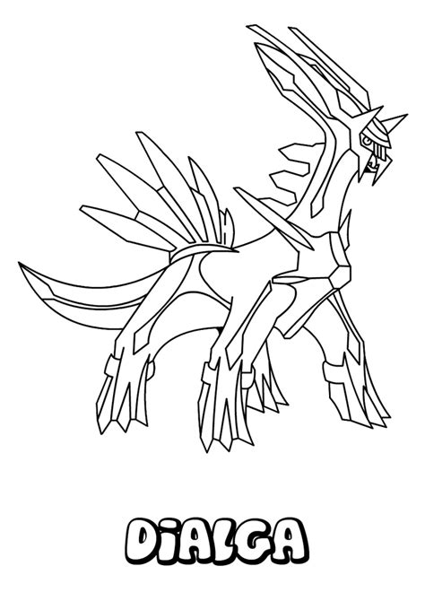 pokemon coloring pages dialga pokemon dialga coloring pages ideas