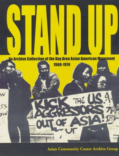 serve the asian america in the sixties books stand up an archive collection of the bay area asian