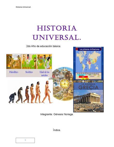 historia universal del la 8499089496 libro de historia universal genesis noriega by genesis noriega issuu