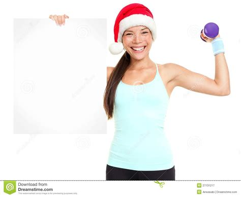 fitness christmas pics fitness showing sign stock image image 27131217