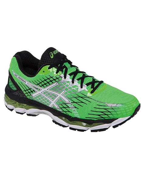 asics sports shoe asics gel nimbus 17 green sports shoes buy asics gel