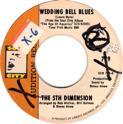 Wedding Bells Vinyl by The 5th Dimension Wedding Bell Blues Vinyl At Discogs