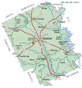 bosque county map bosque county the handbook of state