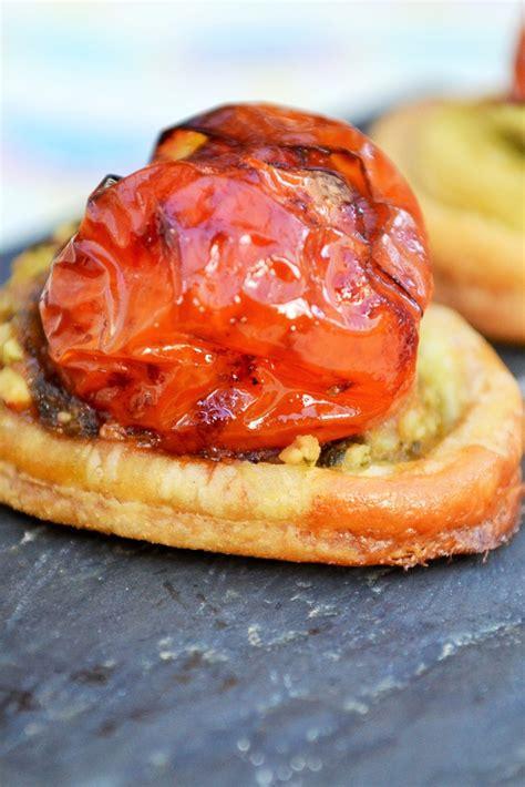 balsamic tomato canape recipe great british chefs