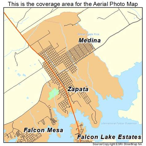 zapata texas map aerial photography map of zapata tx texas