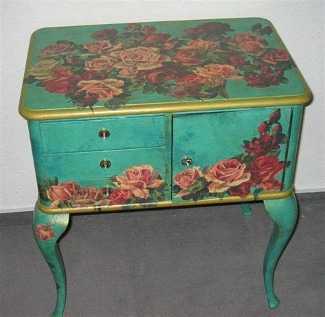How Do You Decoupage Furniture - 1000 ideas about decoupage furniture on how