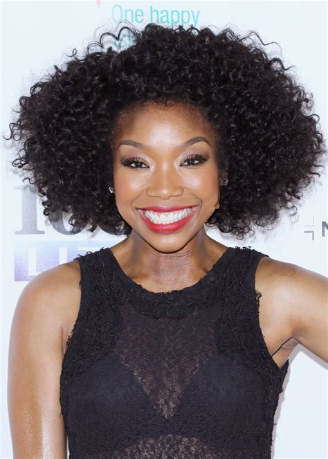 brandy loves natural hair but says as an actress she has natural hair gorgeous styles for black women