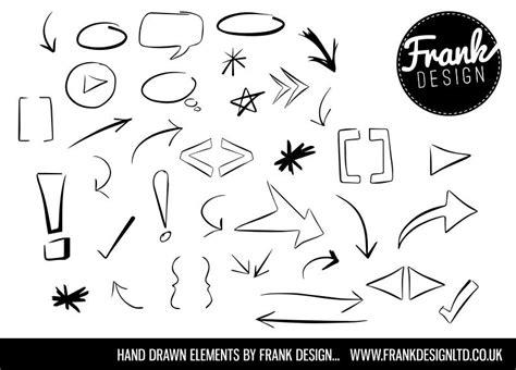 hand draw design elements vector hand drawn design vector elements vector free download