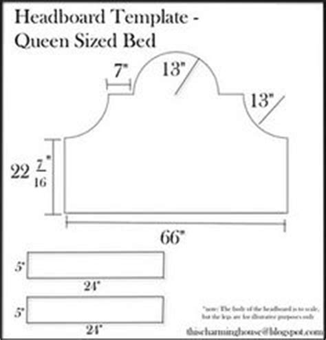 headboard templates card and other tempates on pinterest card templates