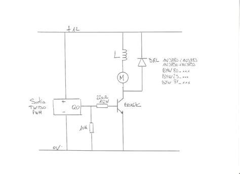 inductance dc variateur commande vitesse moteur dc avec pwm