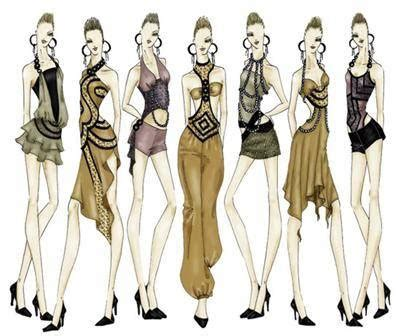 design fashion sketches online fashion design sketches mojomade