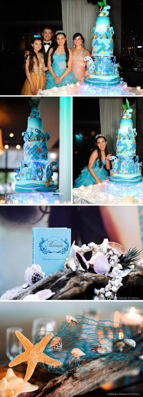 quinceanera themes under the sea gabys under the sea quince cake irene s xv pinterest