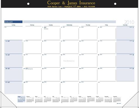 How To Make A Paper Calendar - desk pad calendar w paper headband after 7 31 09