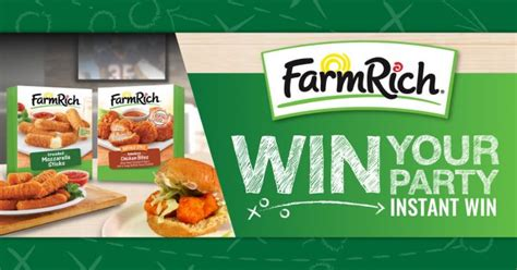 Farm Rich Sweepstakes - sweepstakeslovers daily farm rich sweepstakes ruby tuesday sweepstakes more