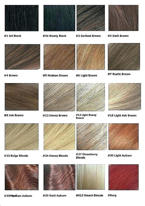 honey hair color chart light honey brown hair color chart