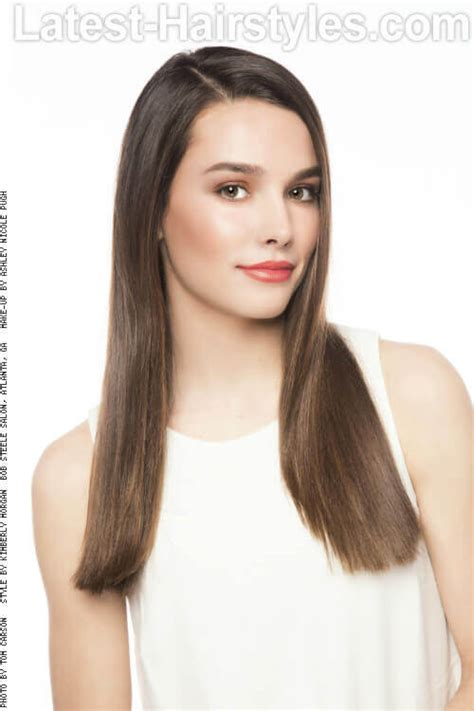 hair dos for long straight hair on 14 year old 35 fool proof hairstyles for straight hair