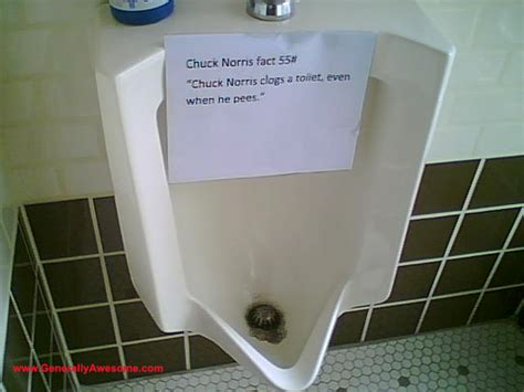 prank in bathroom chuck bathroom prank workplace use of chuck facts in