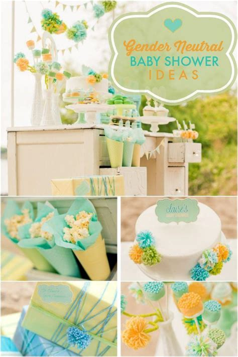 Gender Baby Shower Ideas by A Stunning Gender Neutral Baby Shower Spaceships And