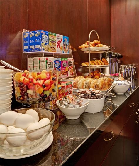 hotels with free breakfast buffet the library hotel s complimentary continental breakfast