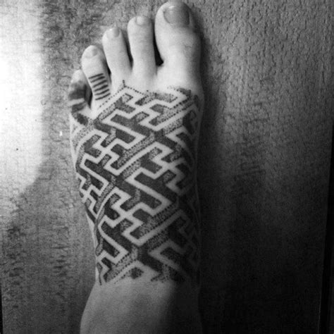 maze tattoo designs 70 maze designs for geometric puzzle ink ideas
