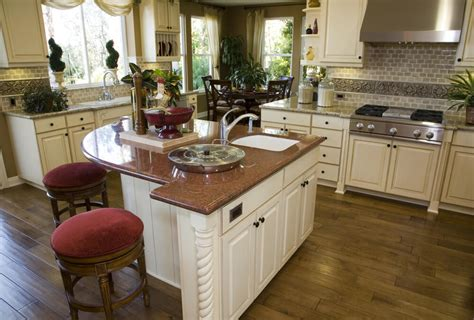 eat in kitchen island 39 fabulous eat in custom kitchen designs