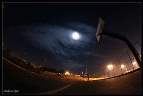 moon ball in the basketball yard: shalhevet: galleries