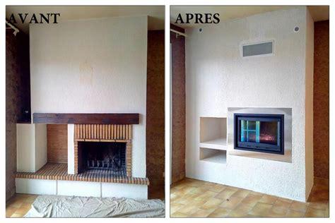 Transformer Cheminee Ouverte En Foyer Ferme by Transformez Un Foyer Ouvert En Foyer Ferm 233