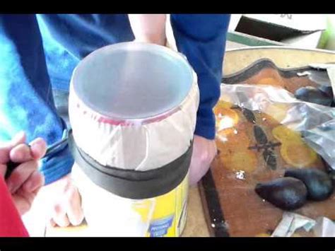 como hacer un tambor tambor de tarro youtube