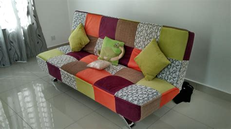 Sofa Patchwork - patchwork sofa penang end time 7 18 2017 6 15 pm lelong my