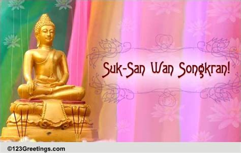 Heartfelt Songkran Wishes Free Songkran Thailand