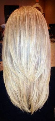 back of hair in a point best 25 straight layered hair ideas on pinterest long