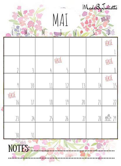 mai calendrier 2016 mai 2016 imprimes le calendrier pour customiser ton