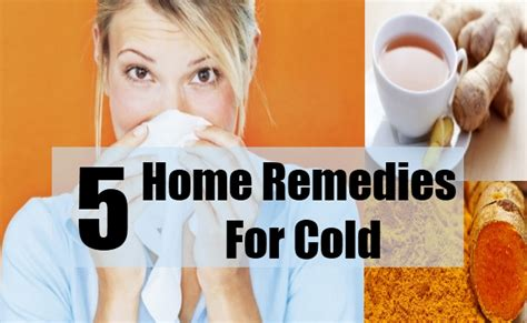 5 cold home remedies treatments and cure usa