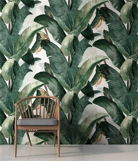 botanical interiors trend 2015 jungle wallpaper from papel pintado tropical 191 te atreves nomadbubbles