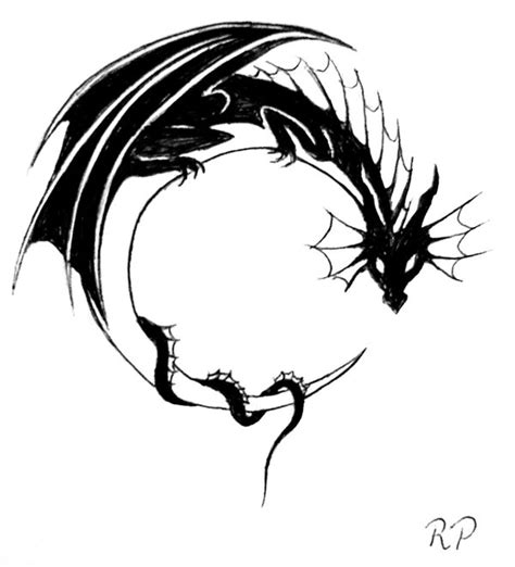 dragon moon tattoo design by bexyboo16 on deviantart