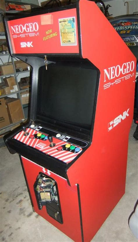Mvs Cabinet by Neo Geo Mvs 1 25 Single Slot Neo Geo Mvs Cabinet