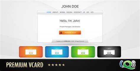 demdous mobile vcard template by thememarket themeforest premium vcard by creativeqbox themeforest