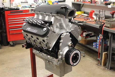 Handcrafted Ls - borowski built 388 cube vortech blown e85 ls next engine