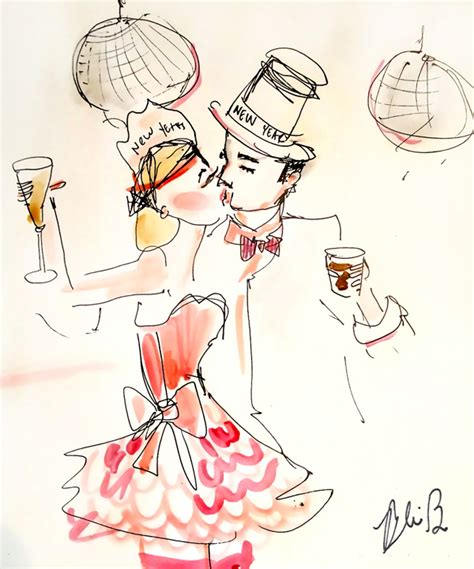 new year illustration fashion illustrations new year s