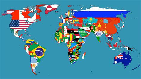 World Map Flags by Unit 4 Political Geography Teacher Nas