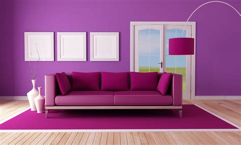 room wall designs purple color for mesmerizing room wall designs with purple cushions on eye catching sofa side