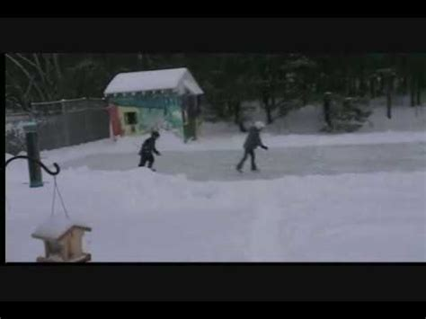 how to make a ice rink in your backyard how to make a rilly big ice rink in your own backyard