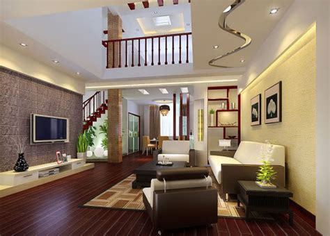 nice living room decor 567 home and garden photo gallery 2011年最新楼中楼客厅装修效果图 12