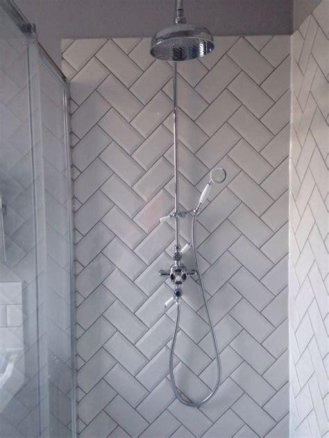 herringbone tiles bathroom herringbone metro tiles bathroom pinterest metro